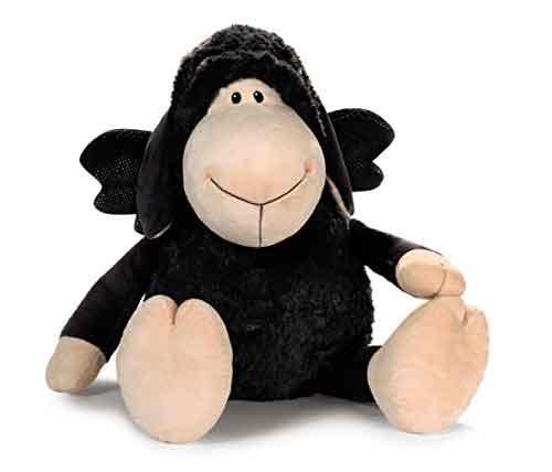 peluche de oveja negra gigante
