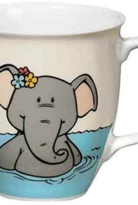 taza nici elefante en bañera