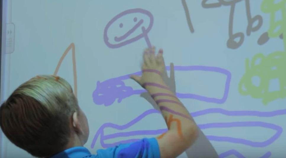 pizarras interactivas infantiles